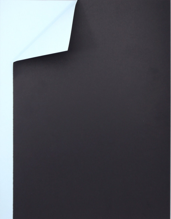 Thick Black Card 480gsm 1S UBK480B1PSV