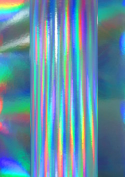 Silver Holographic Rainbow Card 280gsm